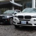 2014 BMW X5 F15 vs E70 Vergleich Foto schwarz weiss 12 120x120