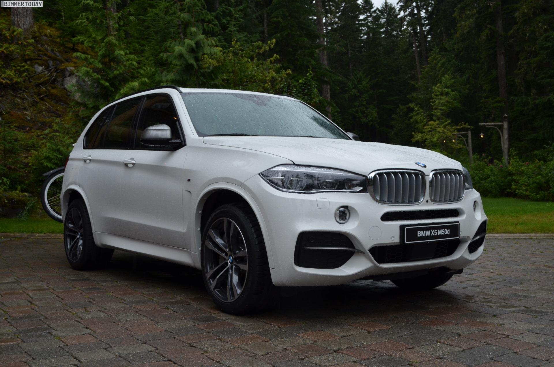 2014 BMW X5 M50d F15 M Sportpaket weiss Triturbo Diesel SUV 01