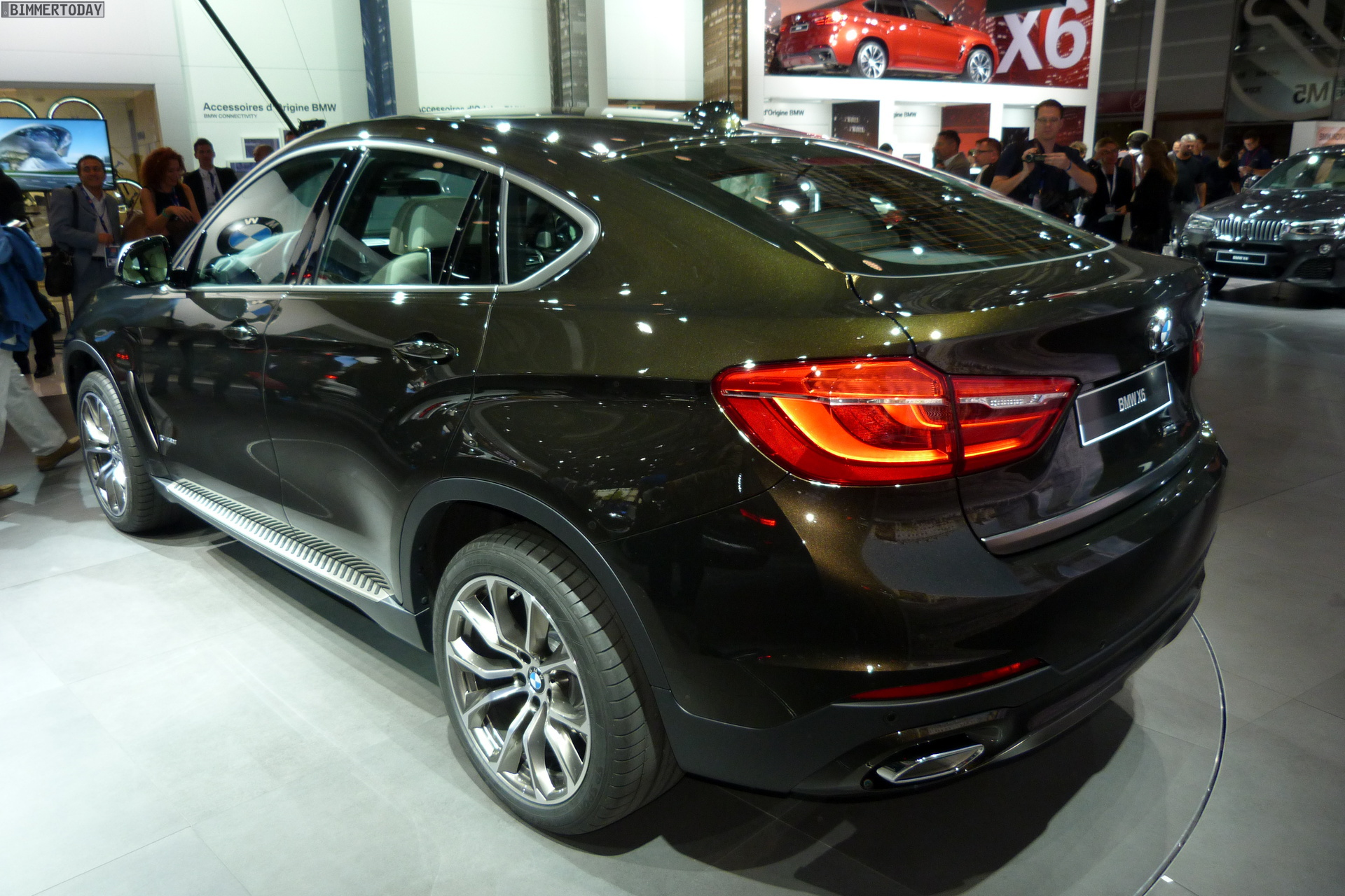2014 Paris Motor Show The New Bmw X6