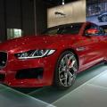 2014 Jaguar XE S Limousine Carnelian Red Premiere Paris LIVE 01 120x120