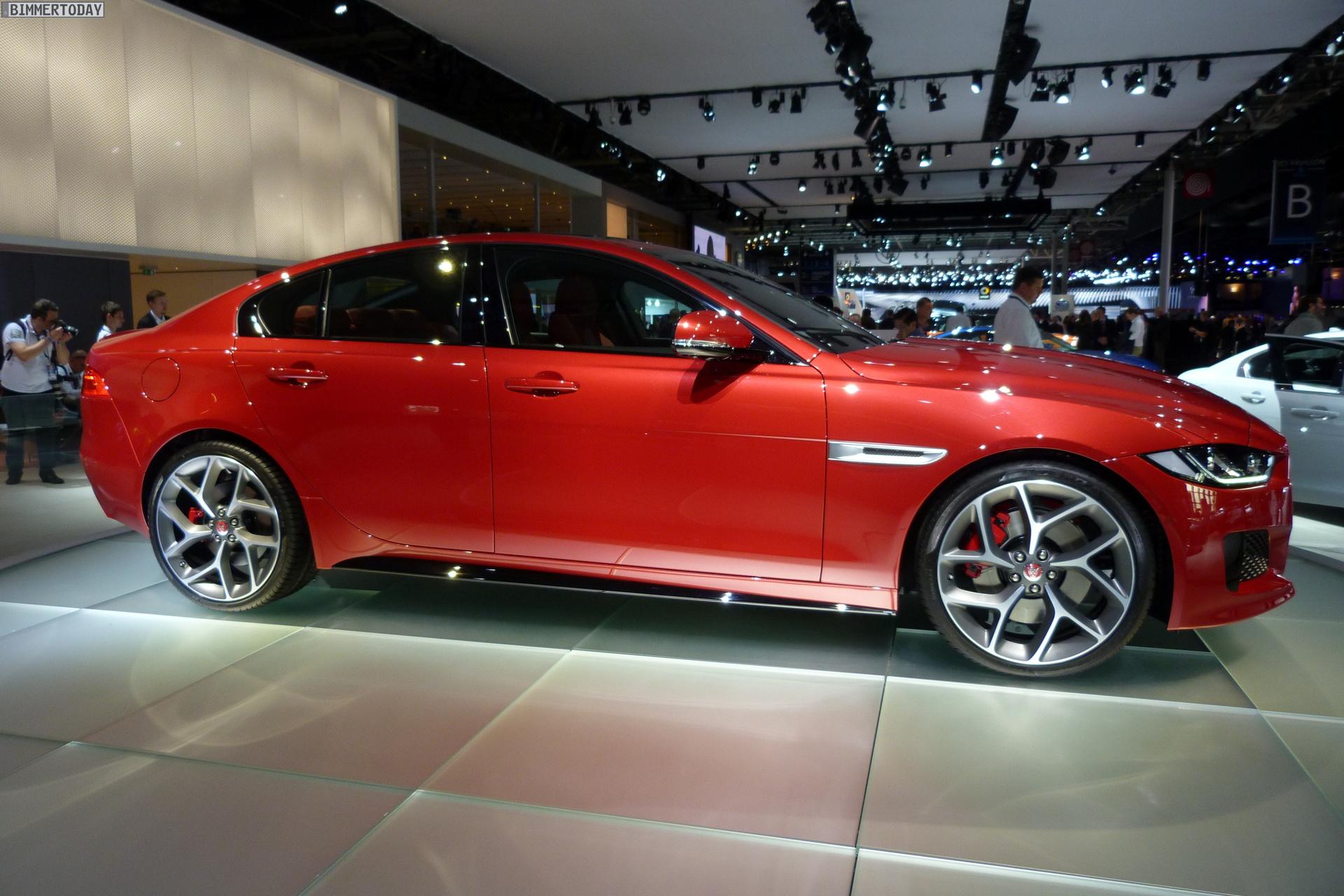 2014 Paris Motor Show: Jaguar XE, a 3 Series competitor, makes its debut