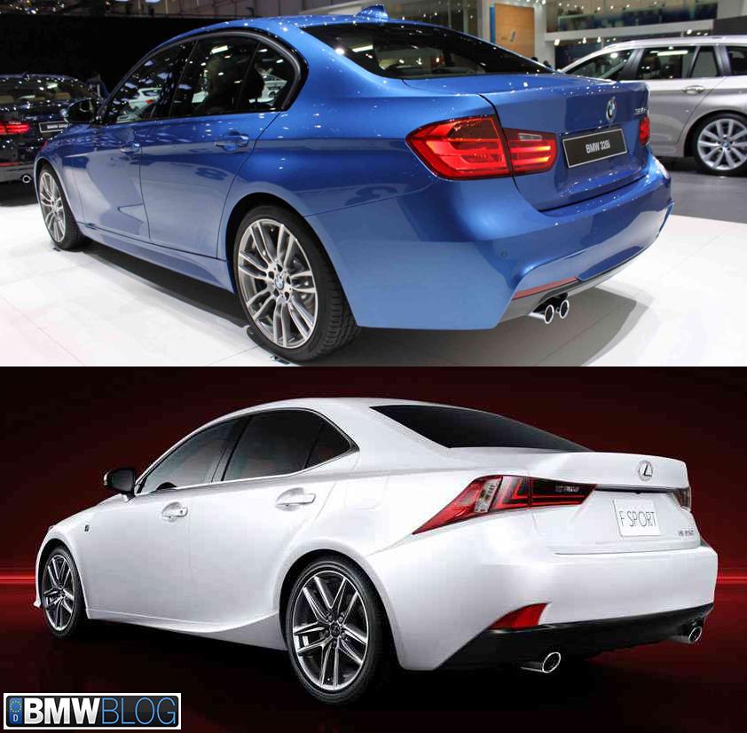 Bmw Z2: Photo Comparison: F30 BMW 3 Series M-Sport Vs 2014 Lexus