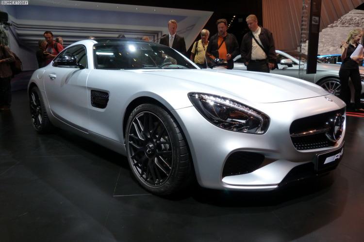 2014 Mercedes Benz AMG GT V8 Biturbo Autosalon Paris LIVE 14 750x500