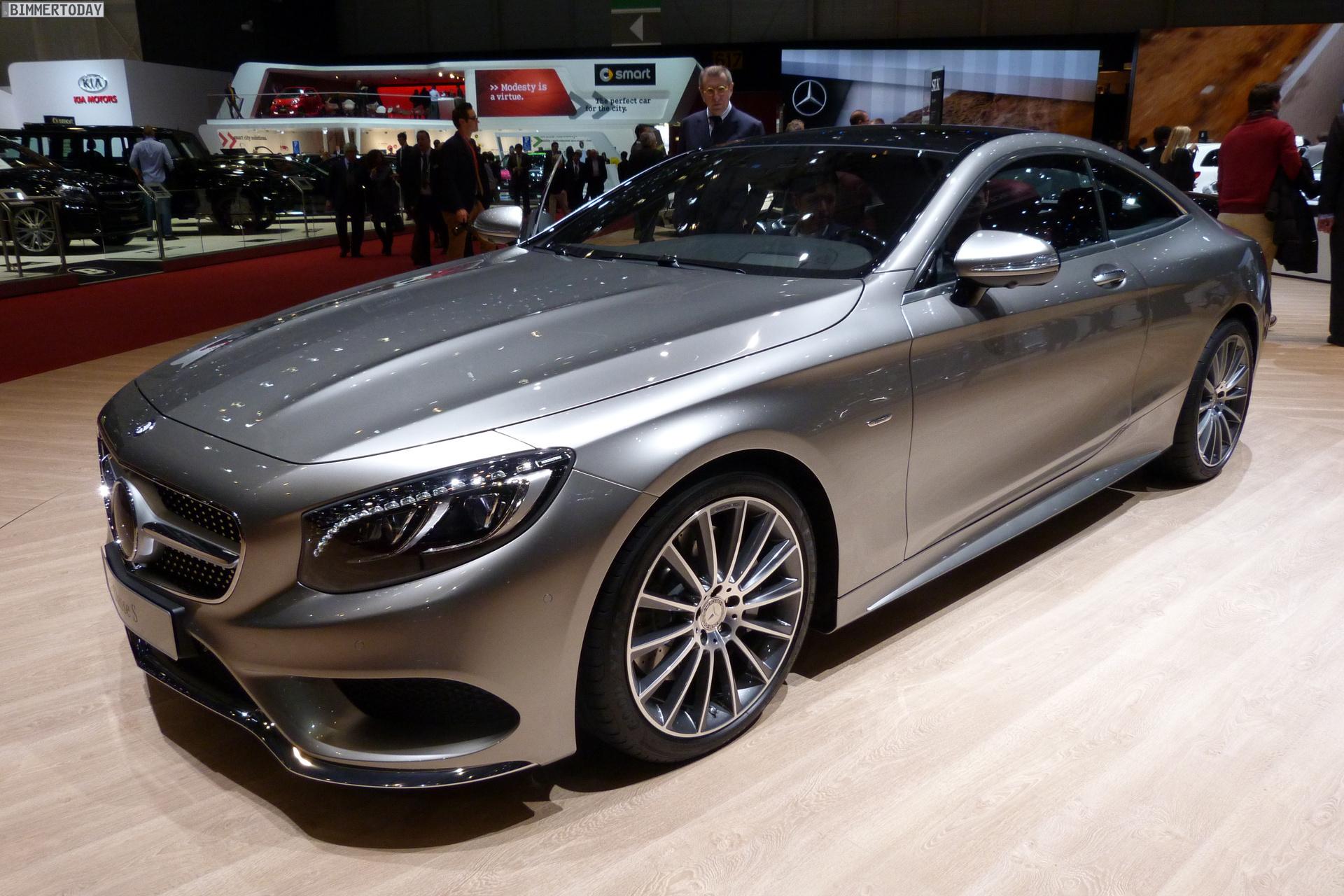 2014 Mercedes Benz S Klasse Coupe Genf Autosalon Live Fotos 01