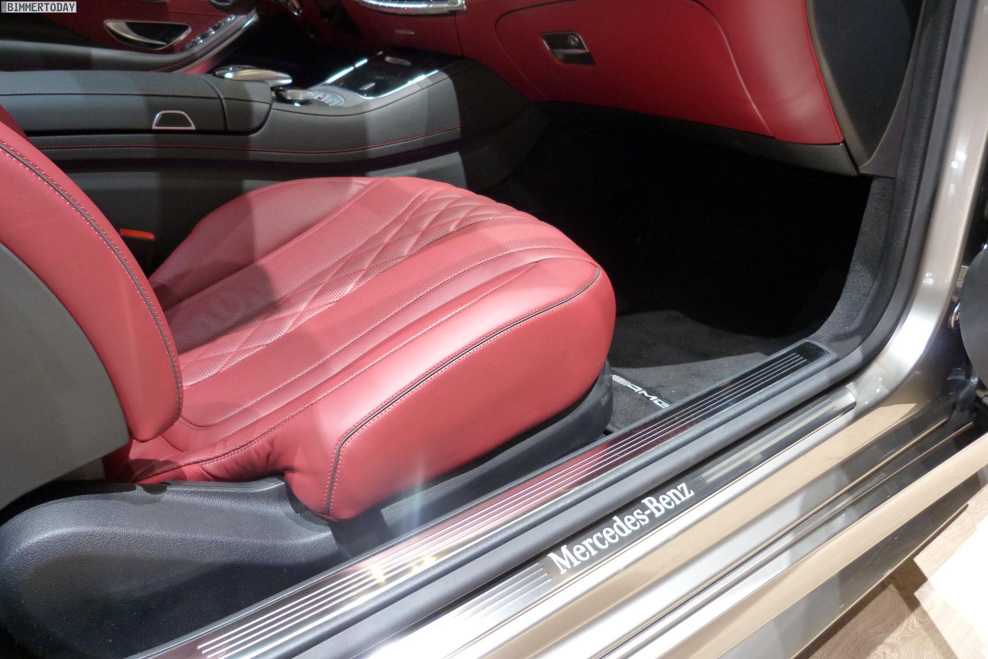 2014 Mercedes Benz S Klasse Coupe Genf Autosalon Live Fotos 24
