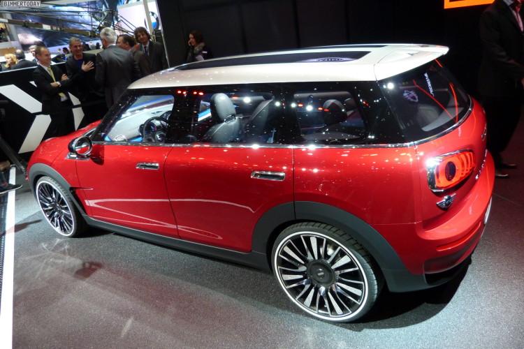 2014 Mini Clubman F54 Concept Car Genfer Autosalon Studie LIVE 17 750x500