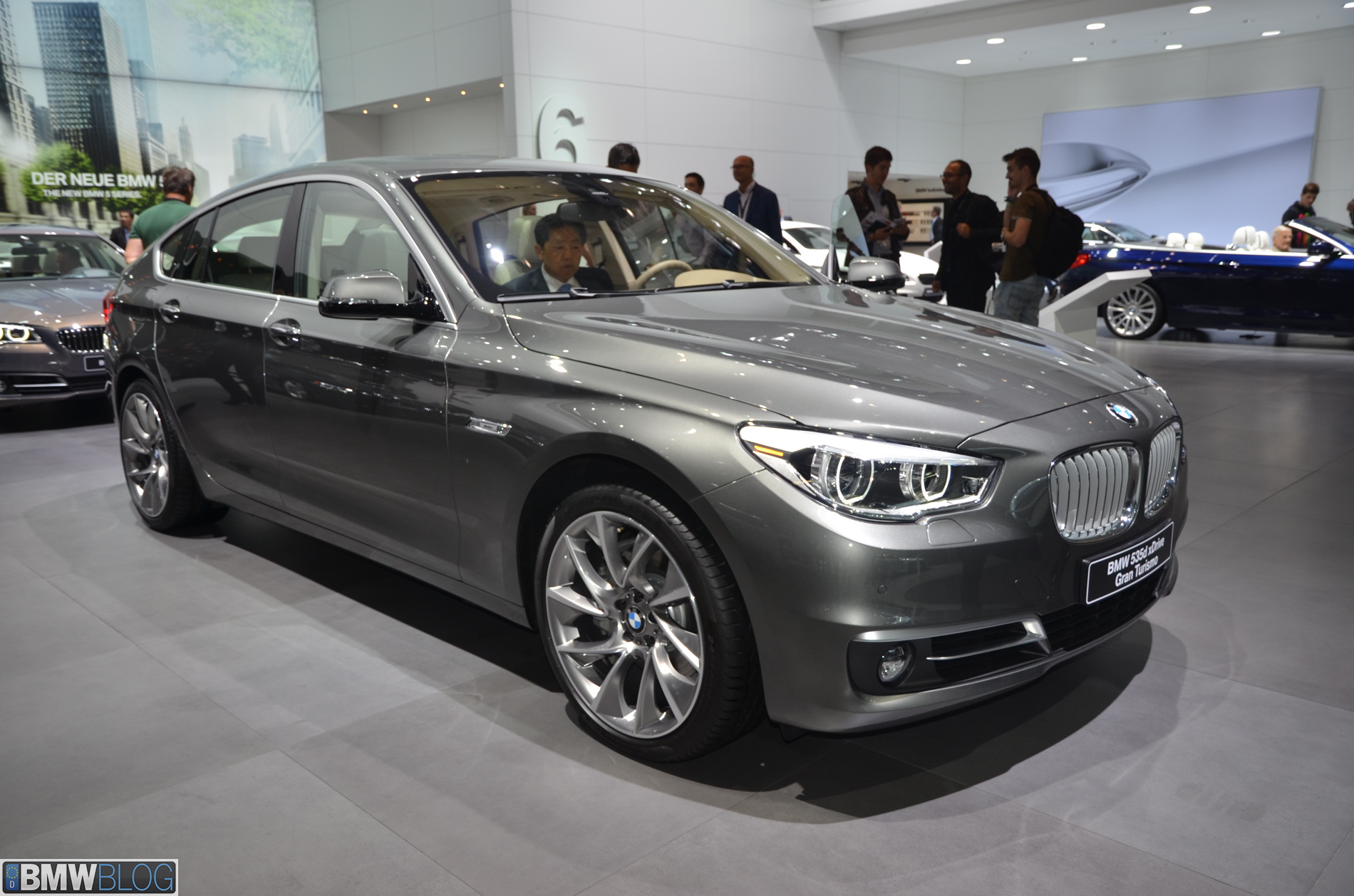 2013 Frankfurt Auto Show 2014 Bmw 5 Series Facelift And 5