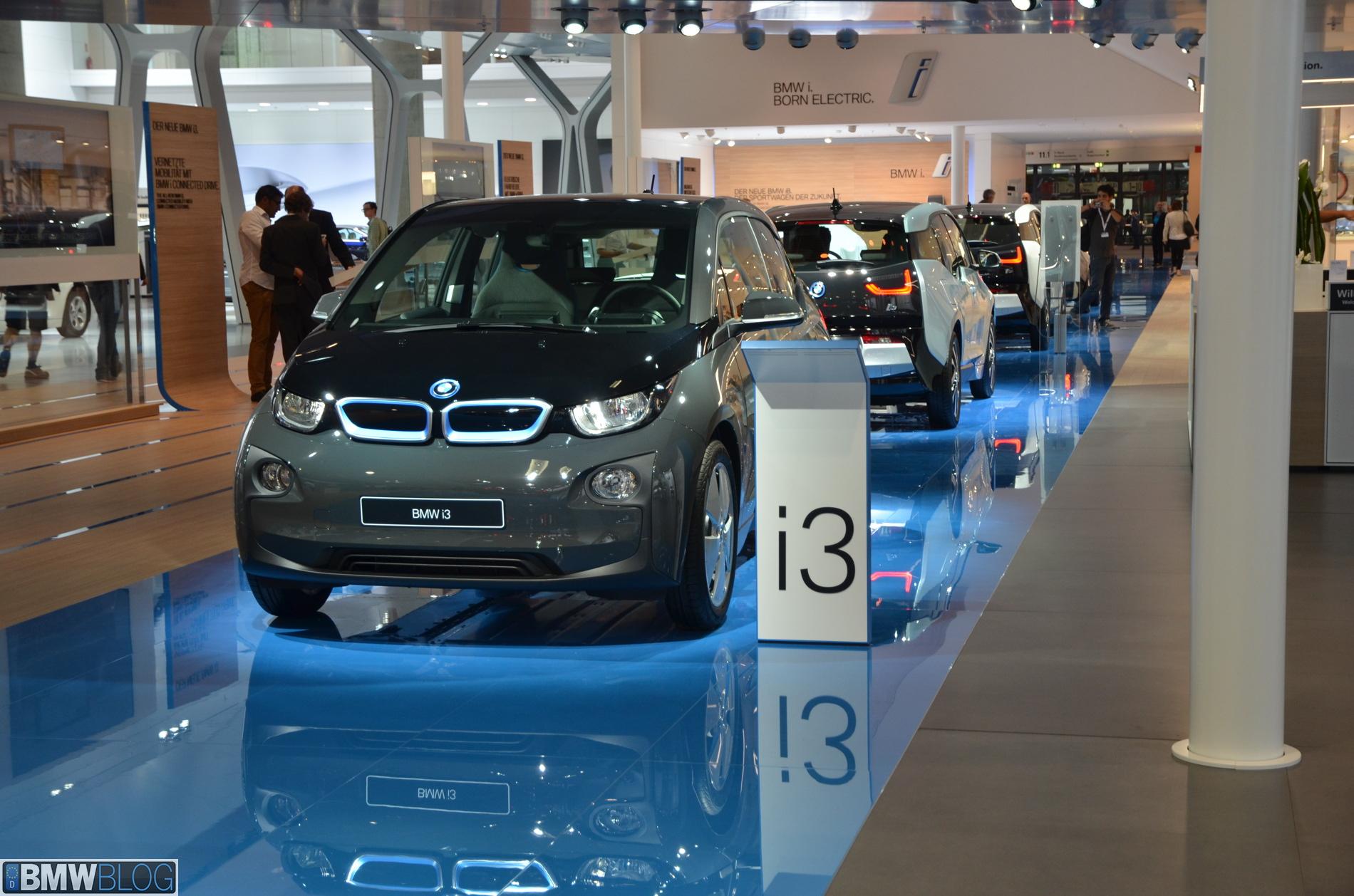 2014 bmw i3 frankfurt auto show 01