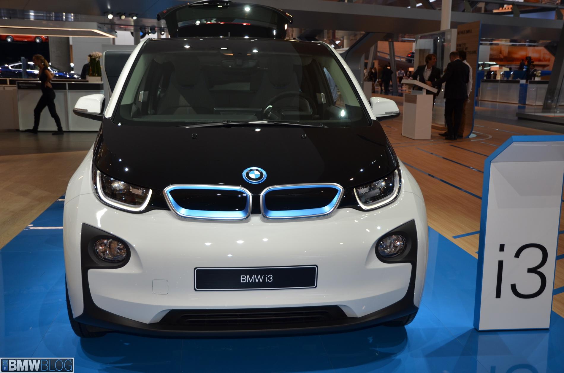 2014 Bmw I3 Frankfurt Auto Show 17
