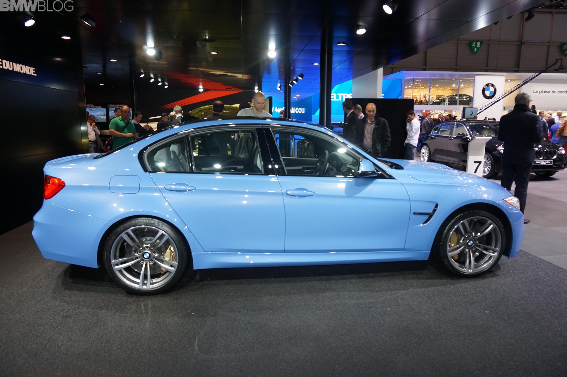 2014 geneva motor show: bmw m3 sedan