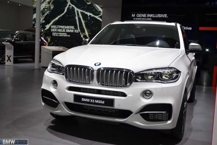 2013 frankfurt auto show 2014 bmw x5 m50d in white 2014 bmw x5 m50d images 02 750x500 voltagebd Image collections