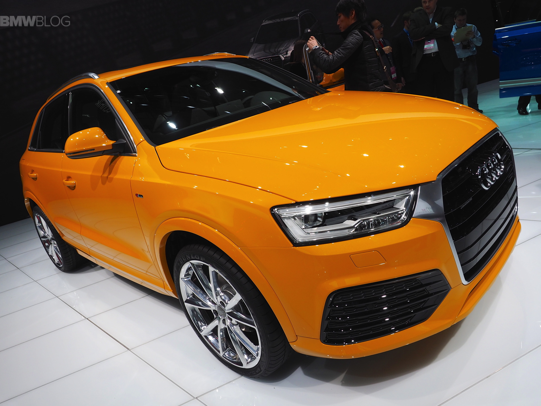 2016 audi q3 facelift launched at detroit auto show. Black Bedroom Furniture Sets. Home Design Ideas
