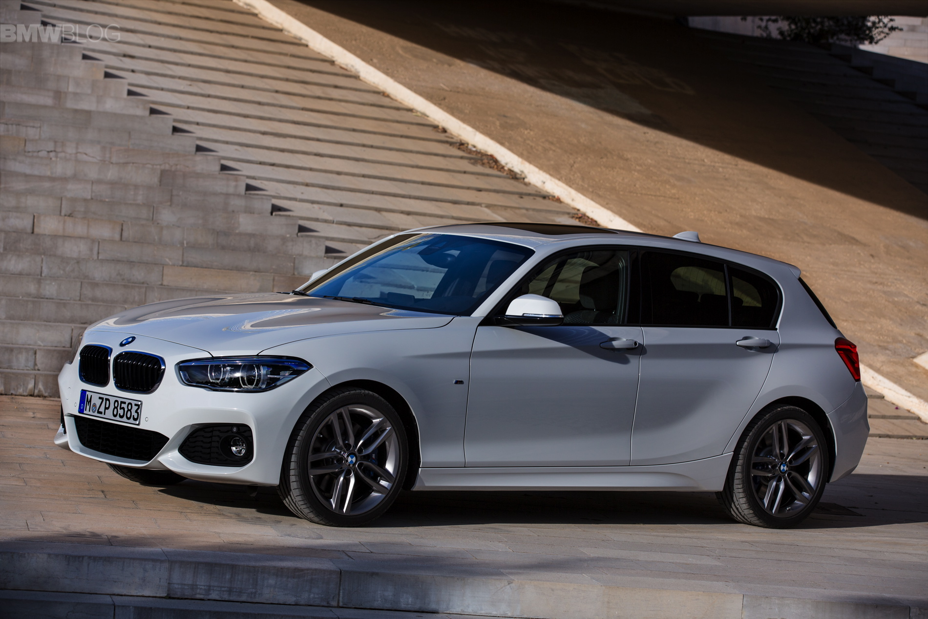 2015 Bmw 1 Series Facelift With M Sport Package