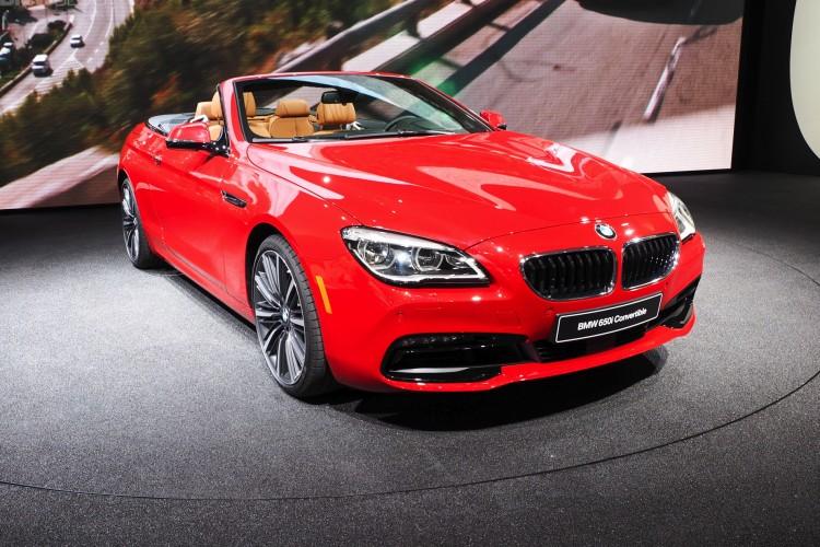 2015 NAIAS: BMW 6 Series Convertible Facelift