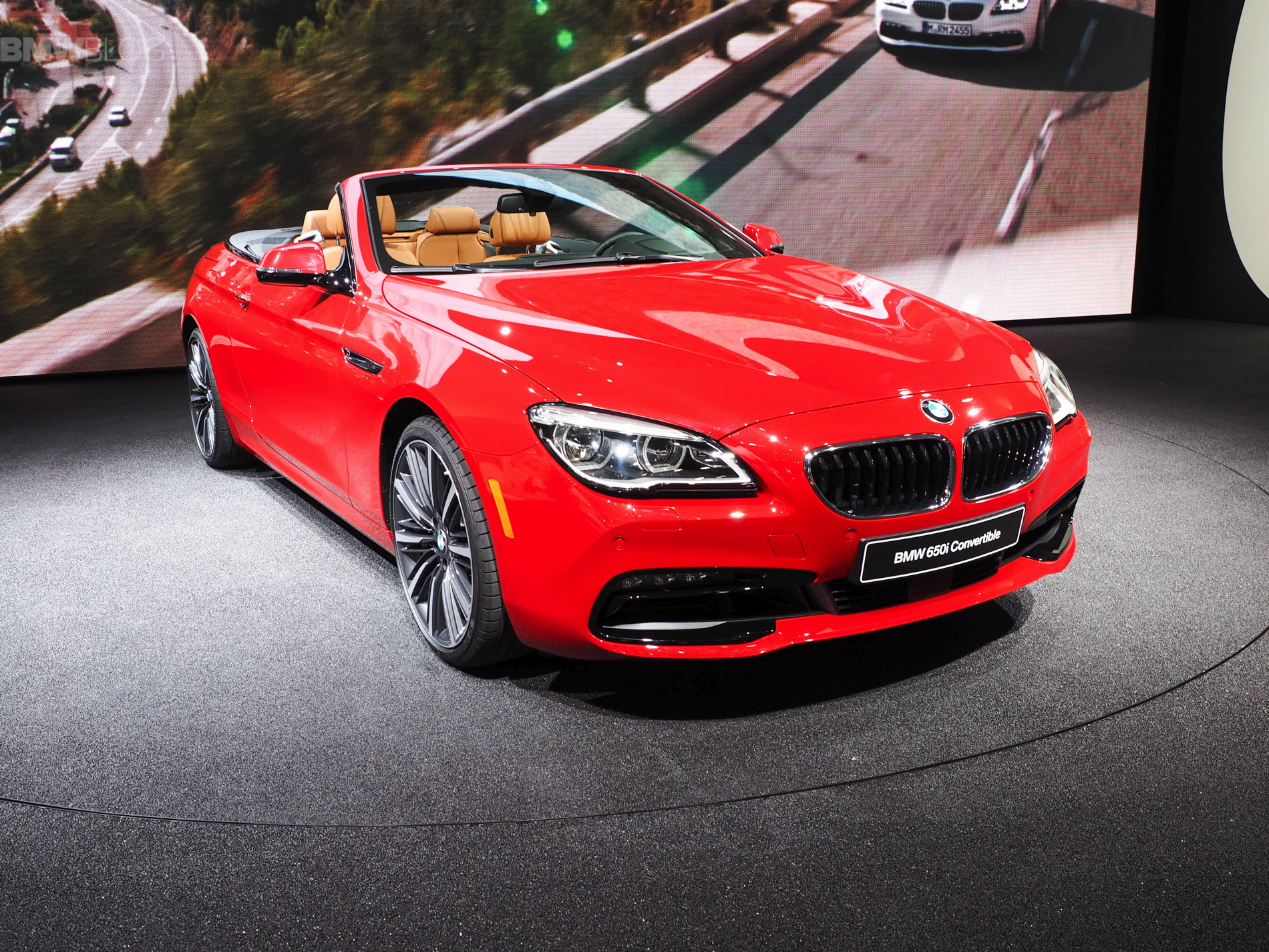 2015 naias bmw 6 series convertible facelift. Black Bedroom Furniture Sets. Home Design Ideas