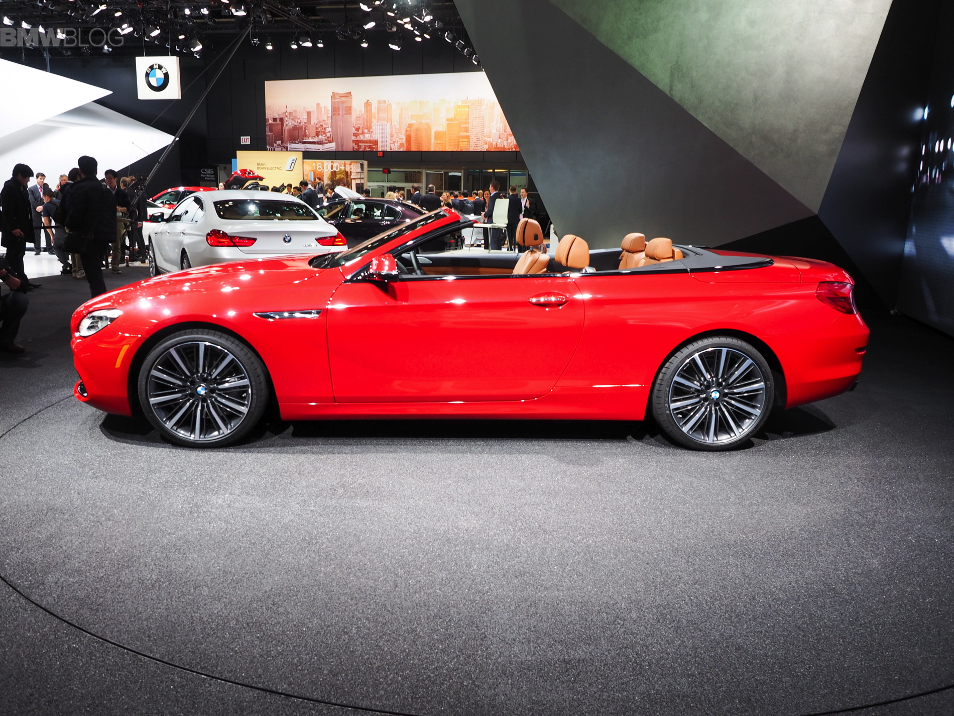 2015 Naias Bmw 6 Series Convertible Facelift