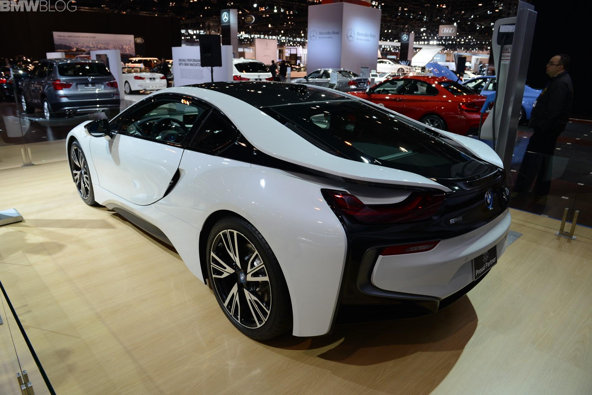 Chicago Auto Show BMW I - Car show chicago today