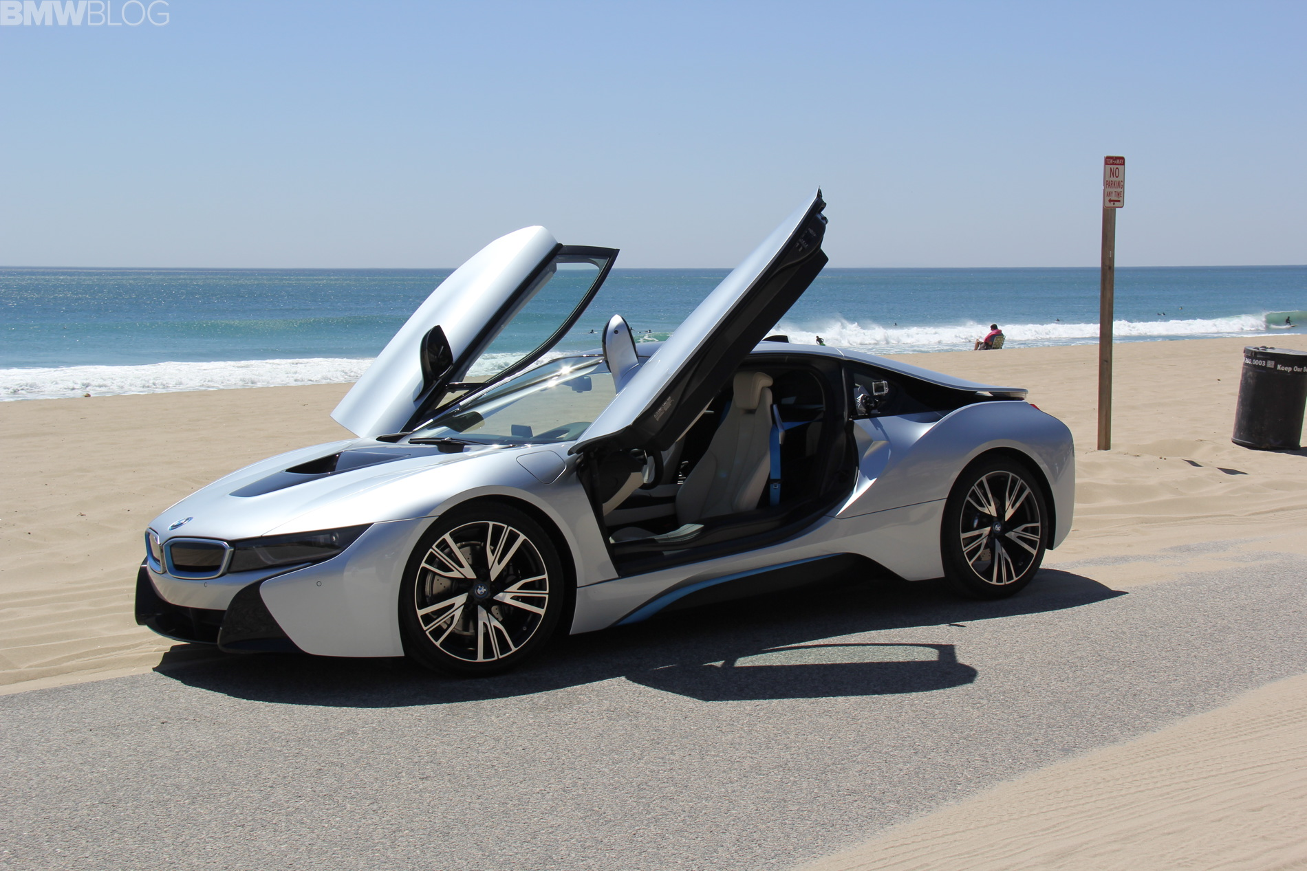 Bmw I8 Instrumented Test