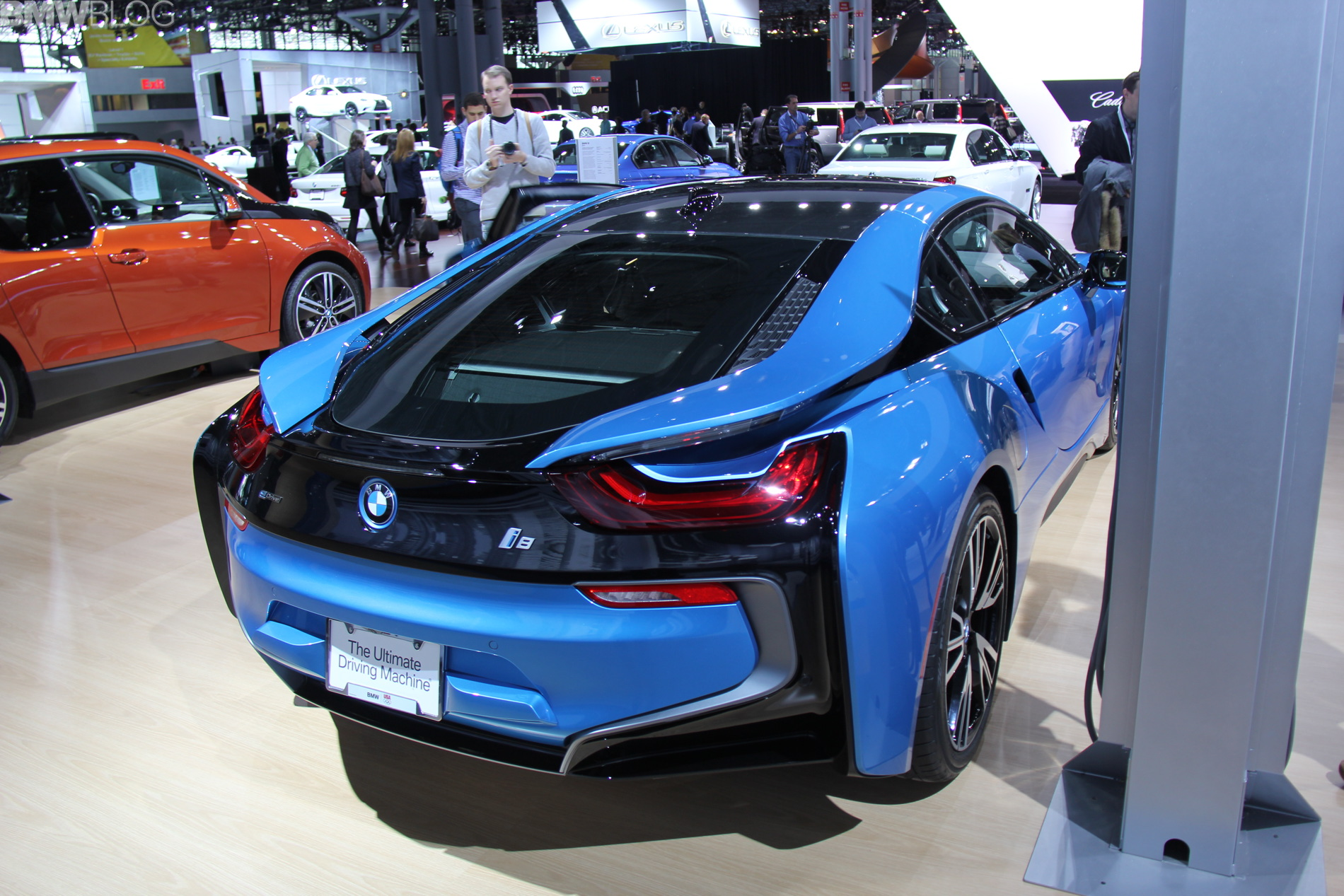2014 Nyias Bmw I8 In Protonic Blue