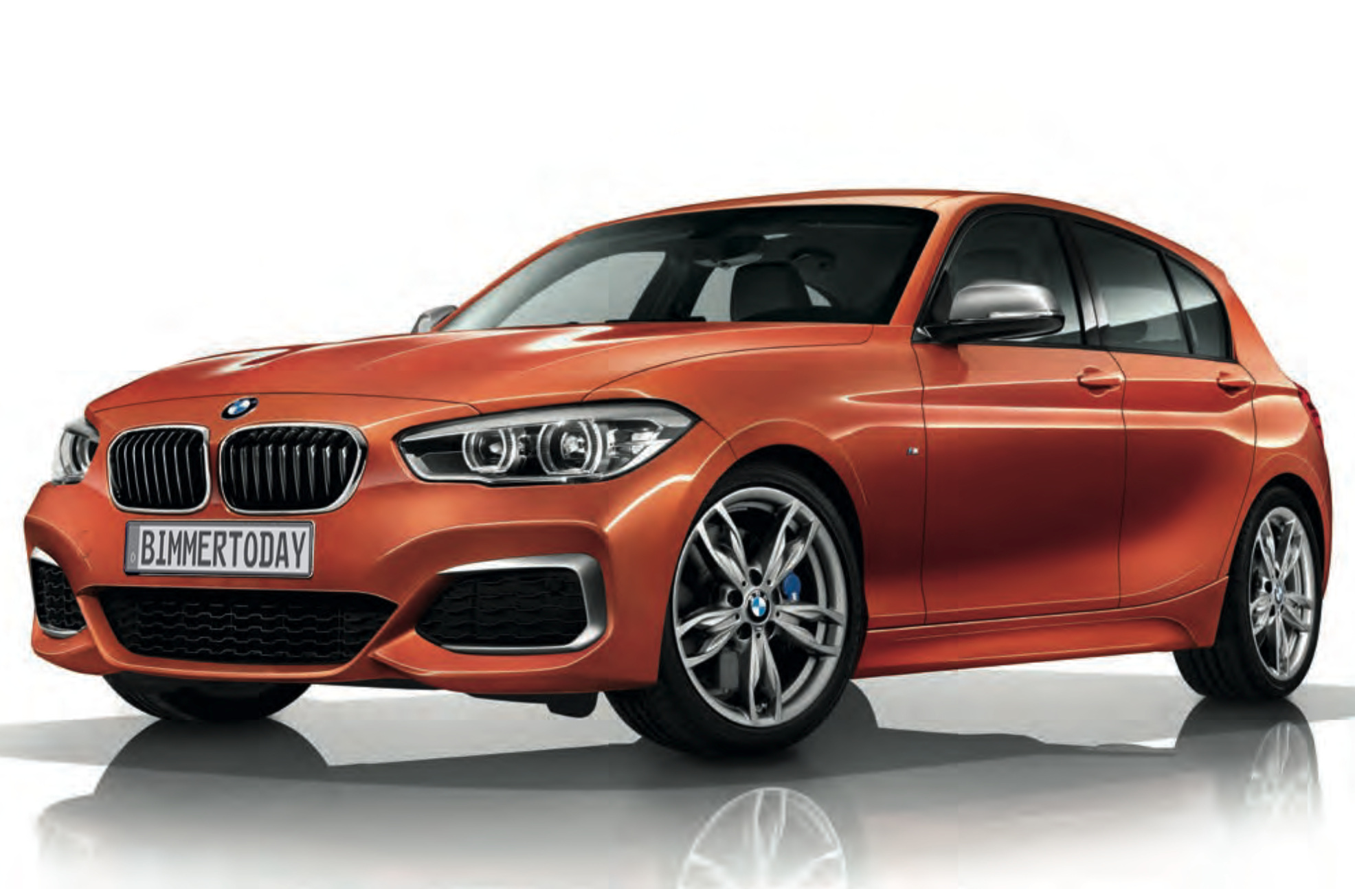 2015 Bmw M135i Looks Great In Valencia Orange