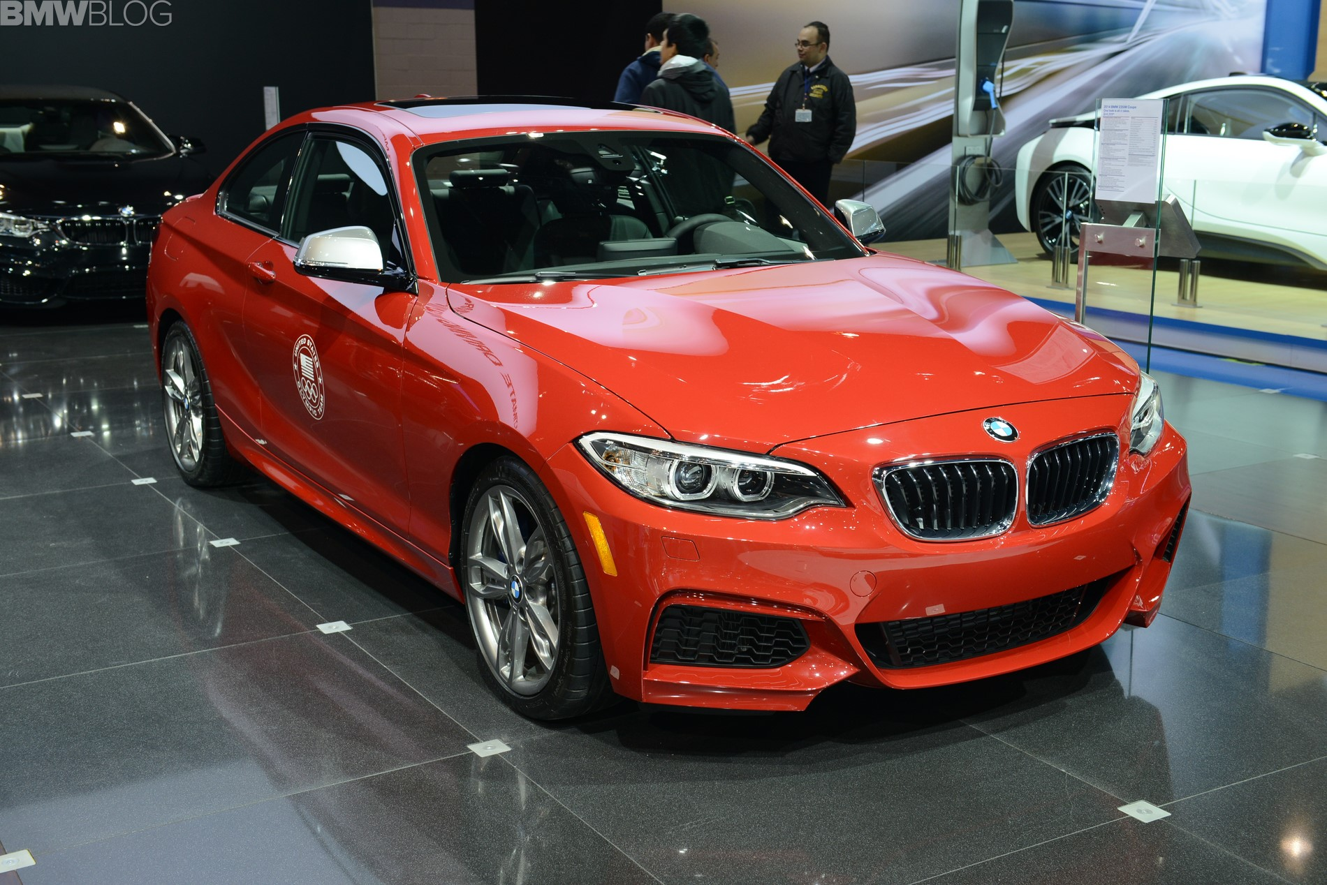 2015 bmw m235i chicago auto show 02
