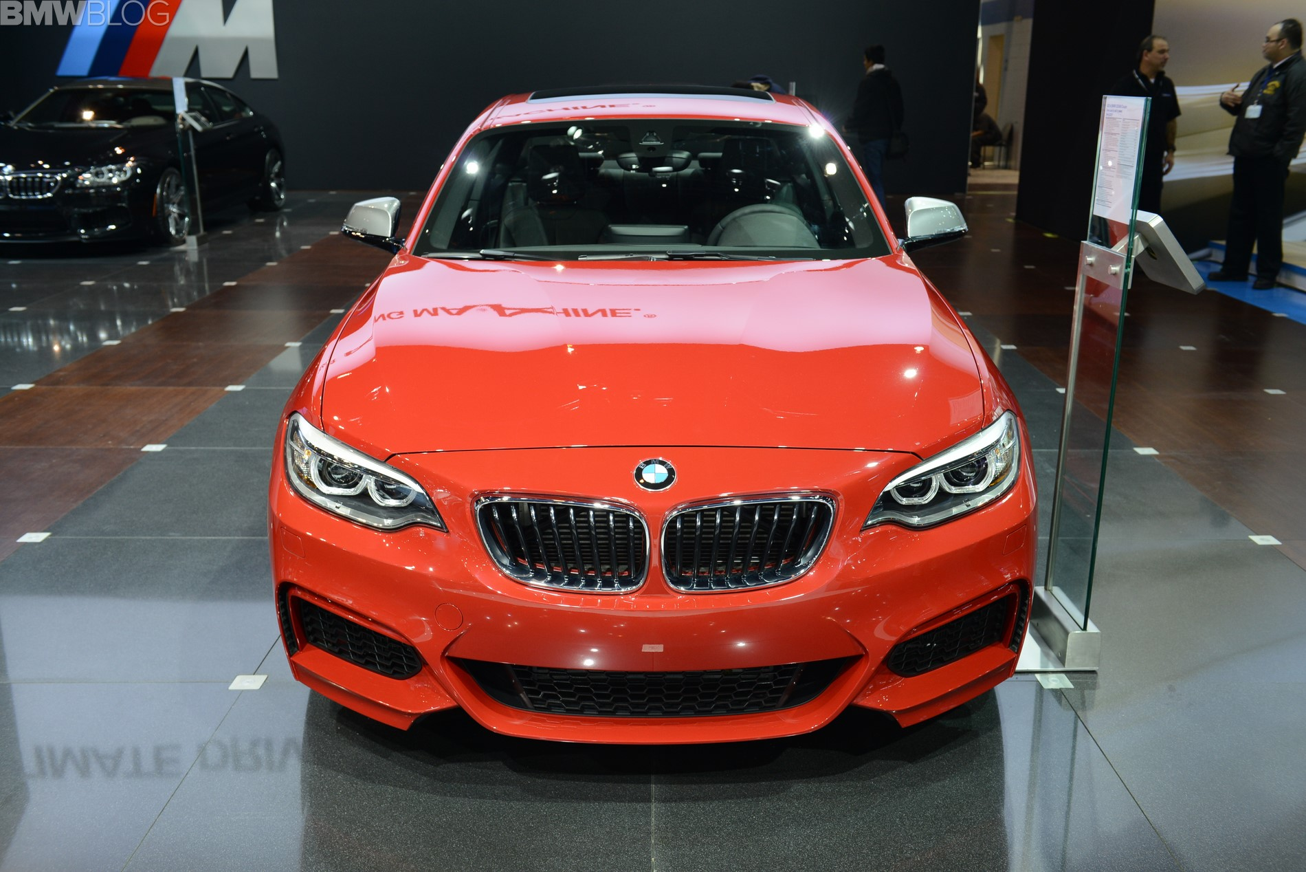 2015 bmw m235i chicago auto show 04