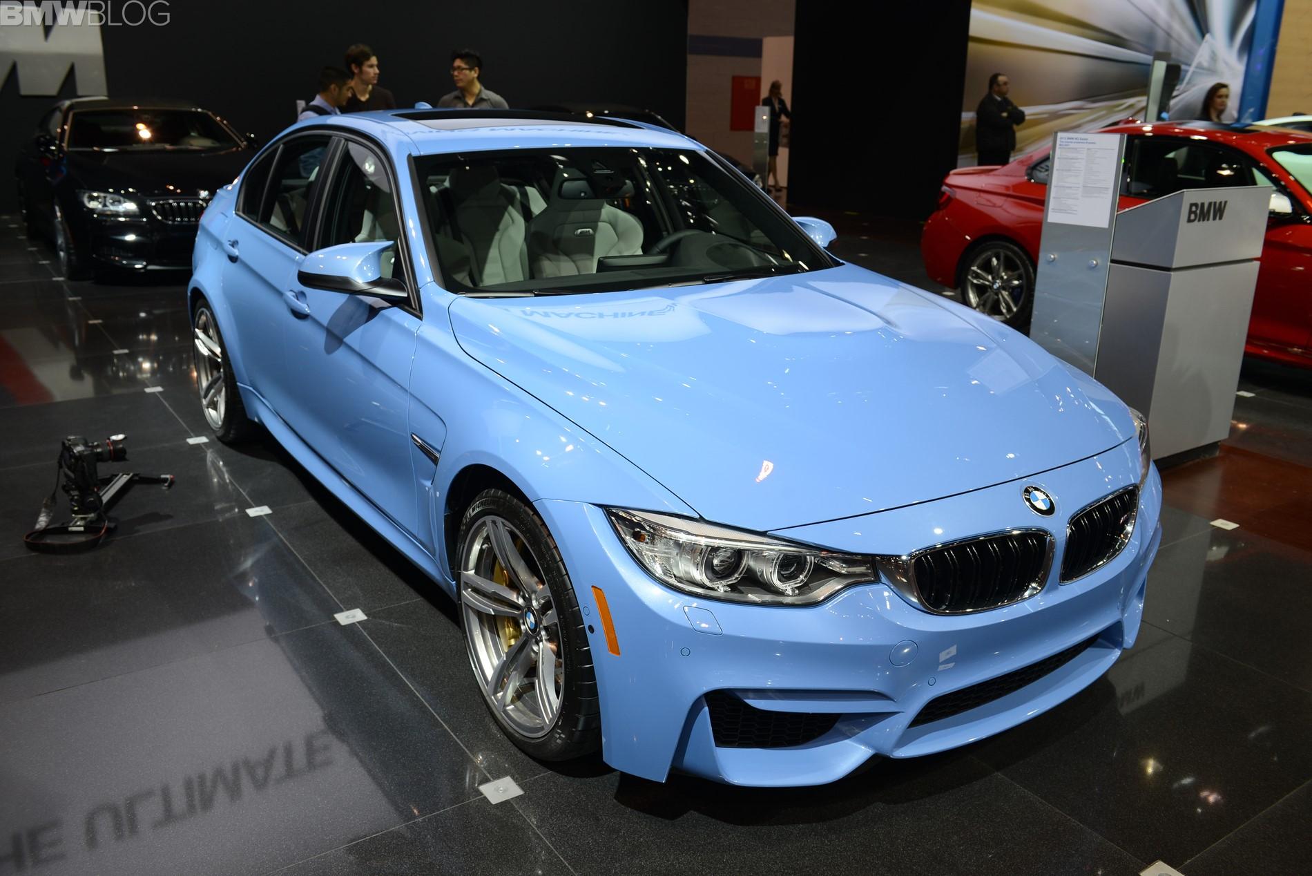 2015 bmw m3 chicago auto show 01
