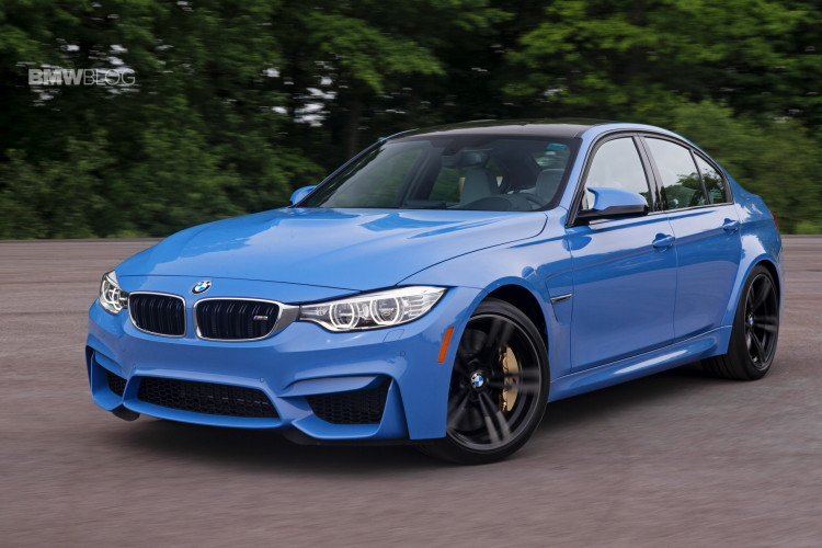 2015 BMW M3 Sedan and M4 Coupe - Track Review