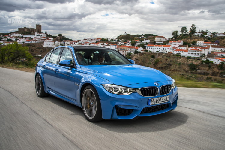 2015 bmw m3 sedan test drive 4photos 750x500