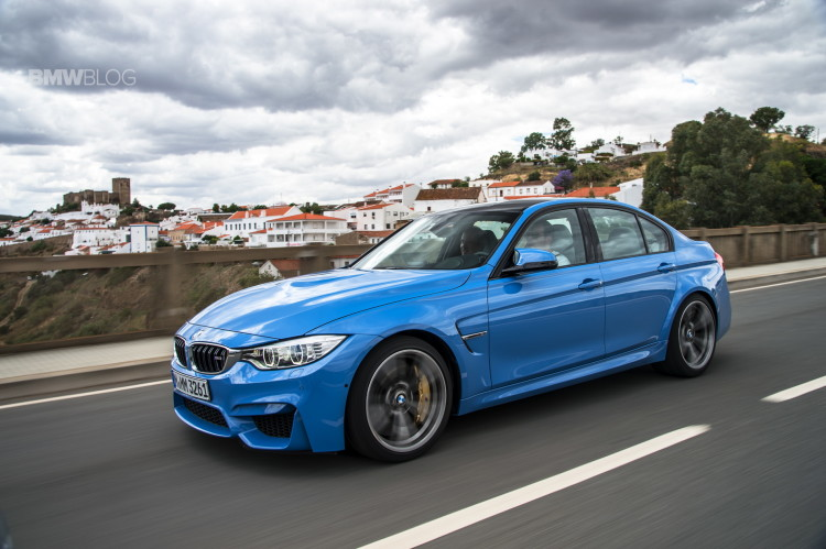2015 bmw m3 sedan test drive 9photos 750x499