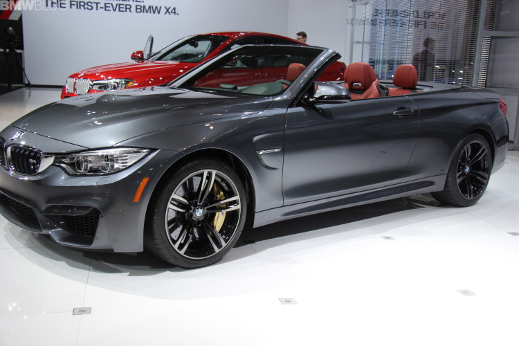 2015 bmw m4 convertible new york auto show 34 750x500