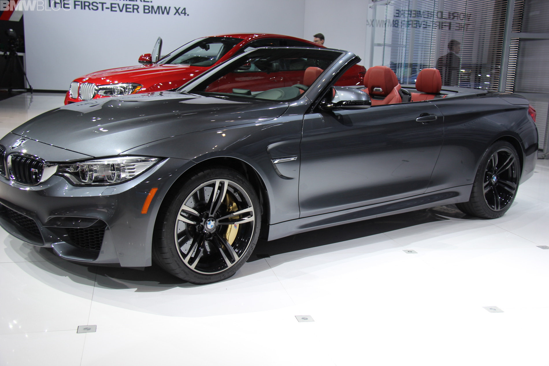 2015 BMW M4 Convertible Video from 2014 New York Auto Show