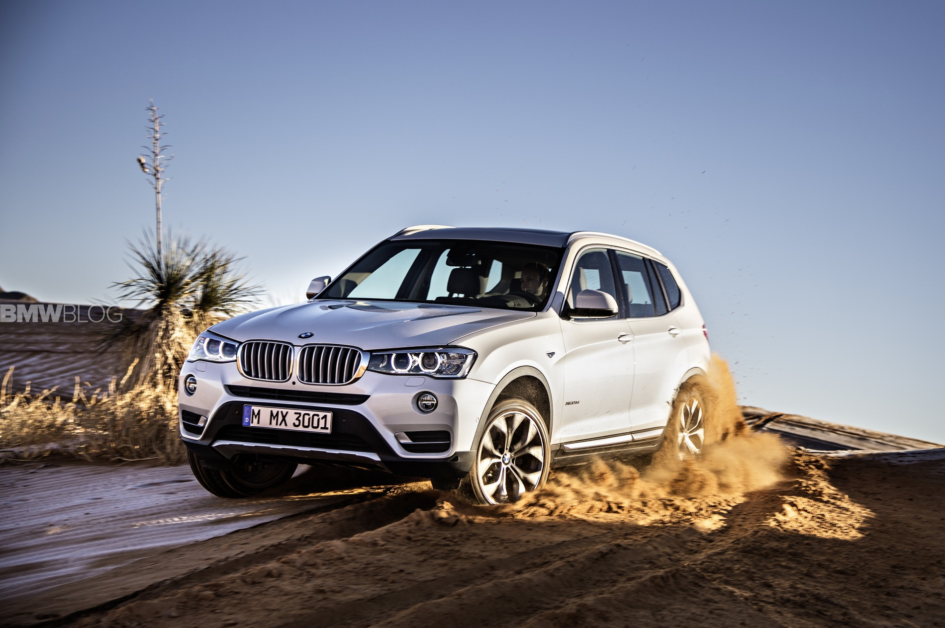 World Premiere 2015 BMW X3 Facelift
