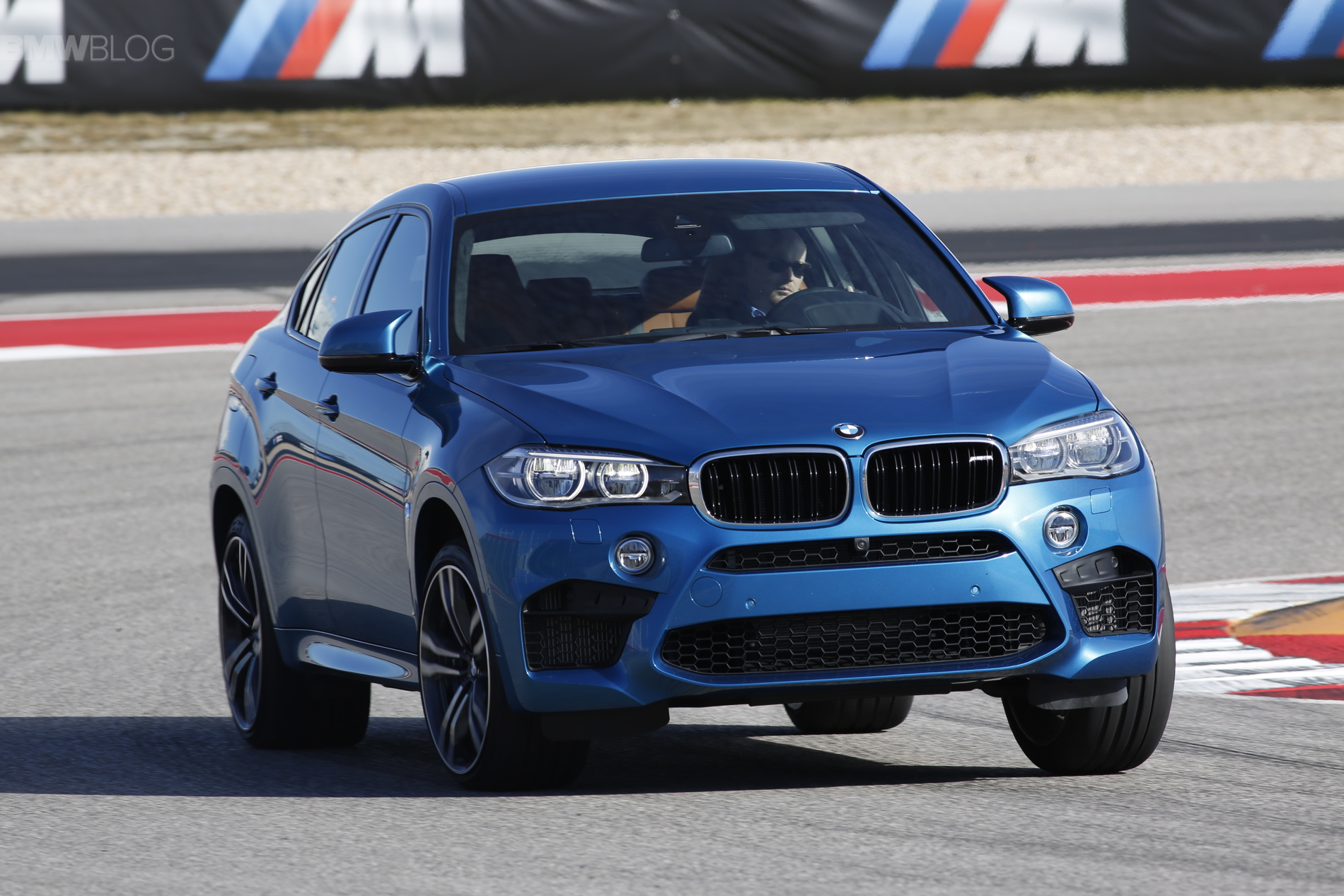 2015 bmw x6 m race track images 107