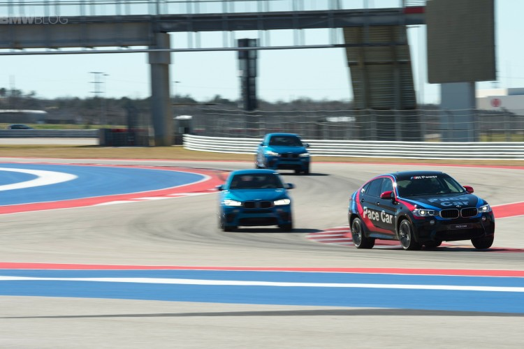 New videos of the 2015 BMW X6 M at COTA