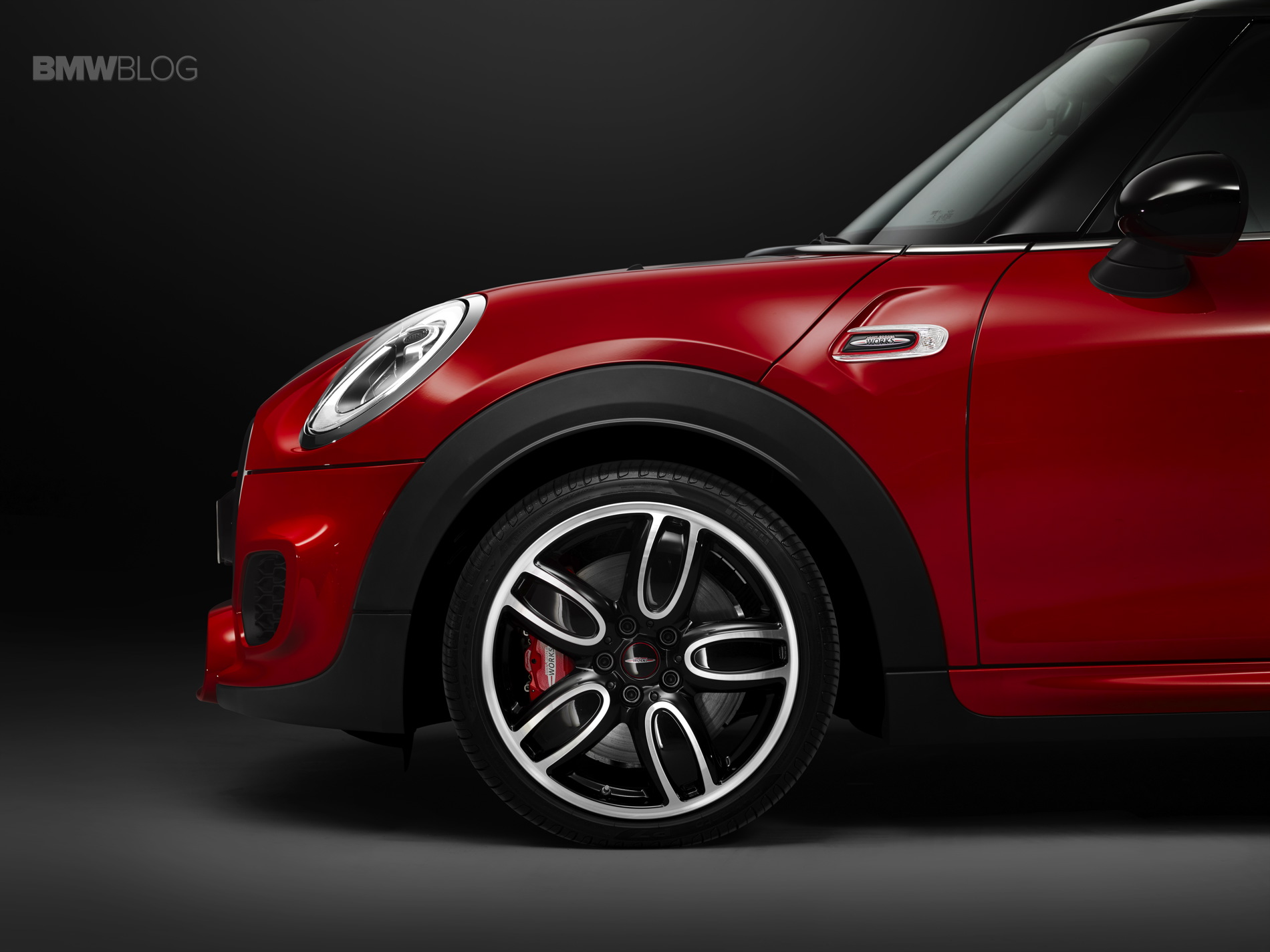 World Premiere 2015 Mini John Cooper Works