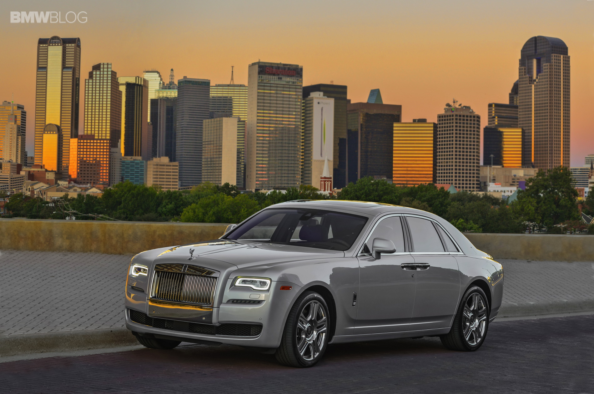 2015 rolls royce ghost series II test drive 14