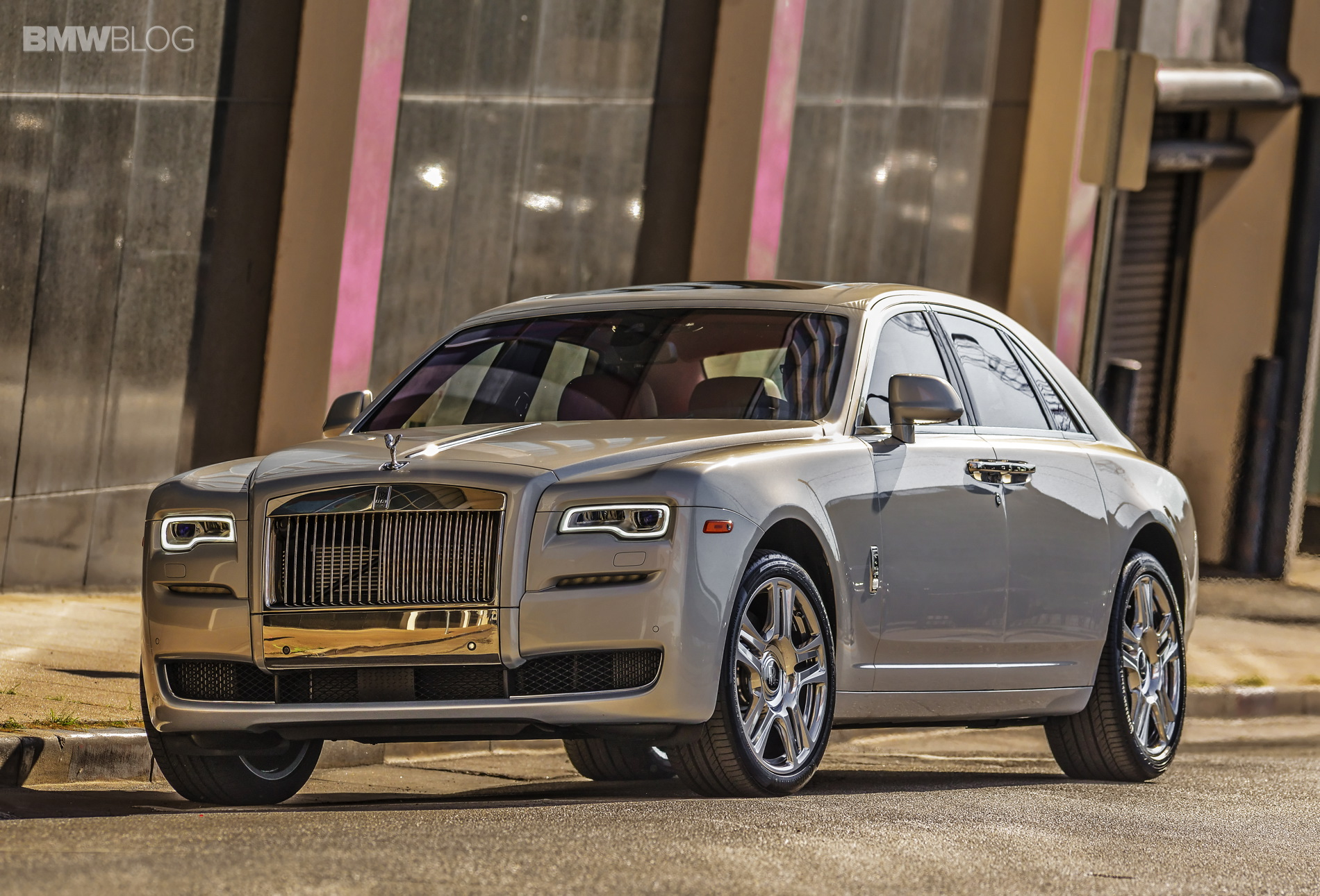2015 rolls royce ghost series II test drive 2