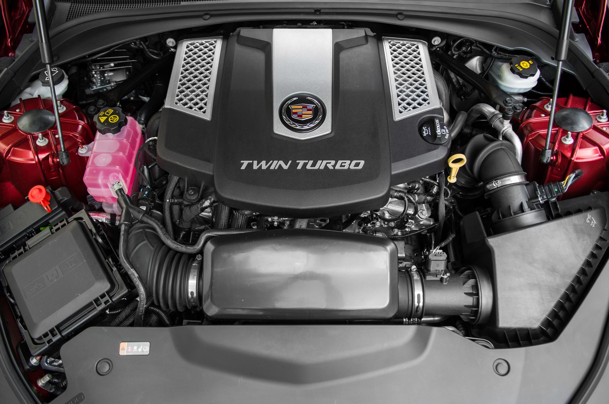 2014 Cadillac Cts Vsport Engine