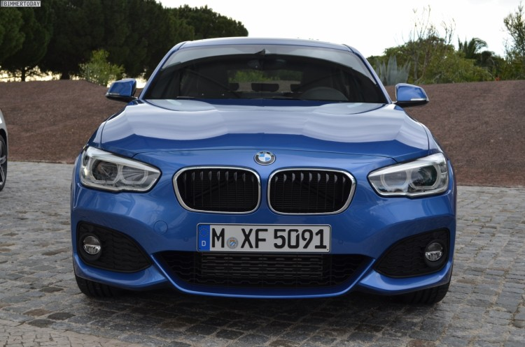 2015 BMW 1er F20 LCI Facelift M Sportpaket Estoril Blau 04 750x497