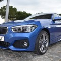 2015 BMW 1er F20 LCI Facelift M Sportpaket Estoril Blau 09 120x120
