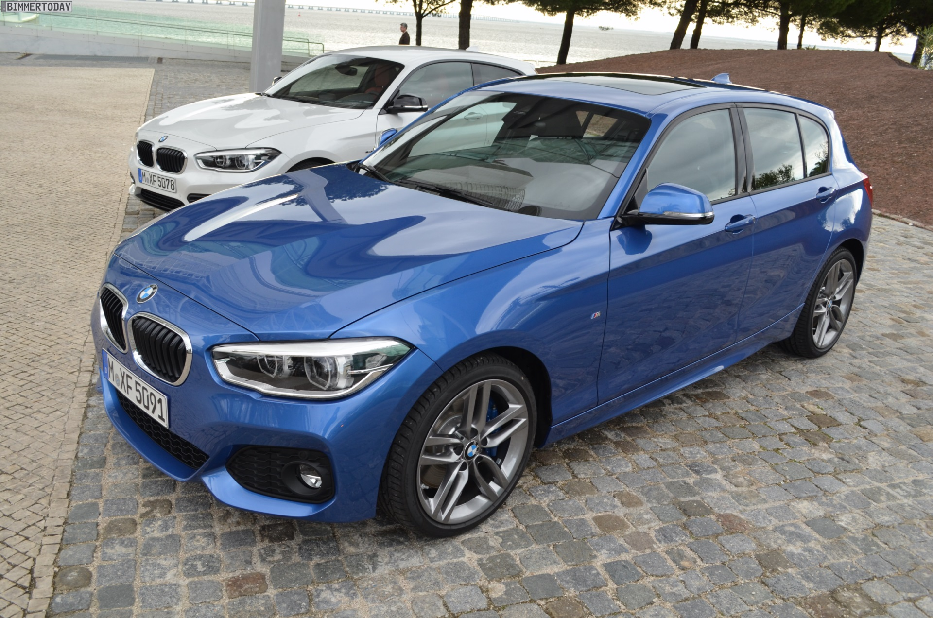 2015 Bmw 1 Series Facelift With M Sport Package In Estoril