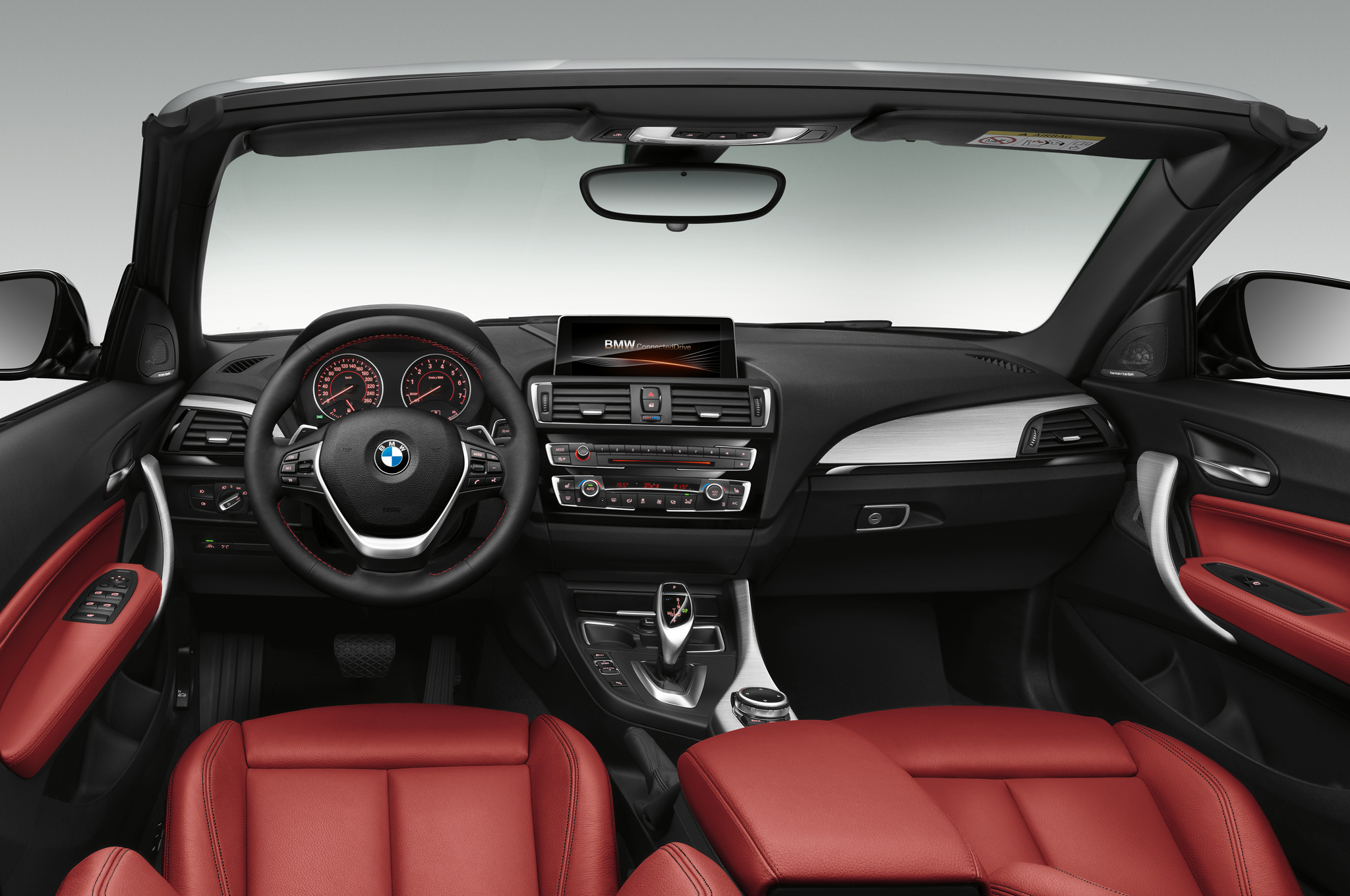 2015 bmw 2 series convertible front interior