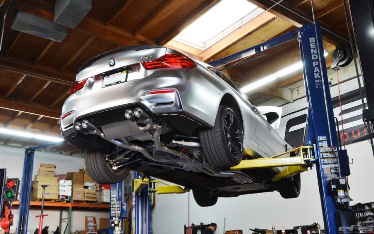 A BMW M4 Looks Interesting In Matte Chrome 10 750x469