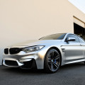 A BMW M4 Looks Interesting In Matte Chrome