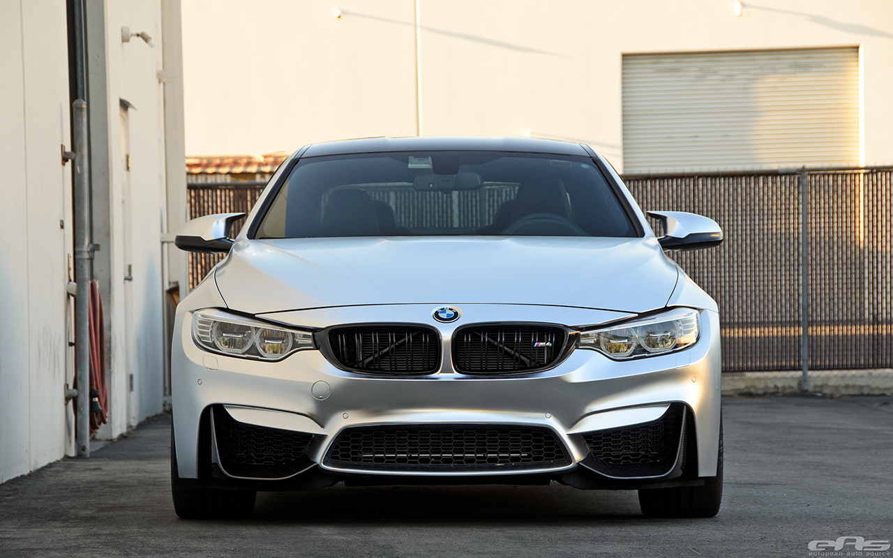 Bmw M4 Coupe In Matte Chrome