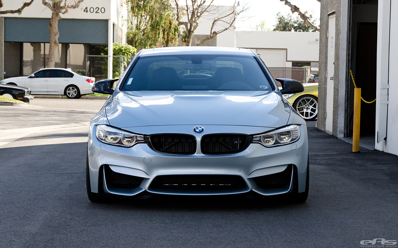 A Silverstone Metallic BMW F82 M4 With Cosmetic Upgrades 11