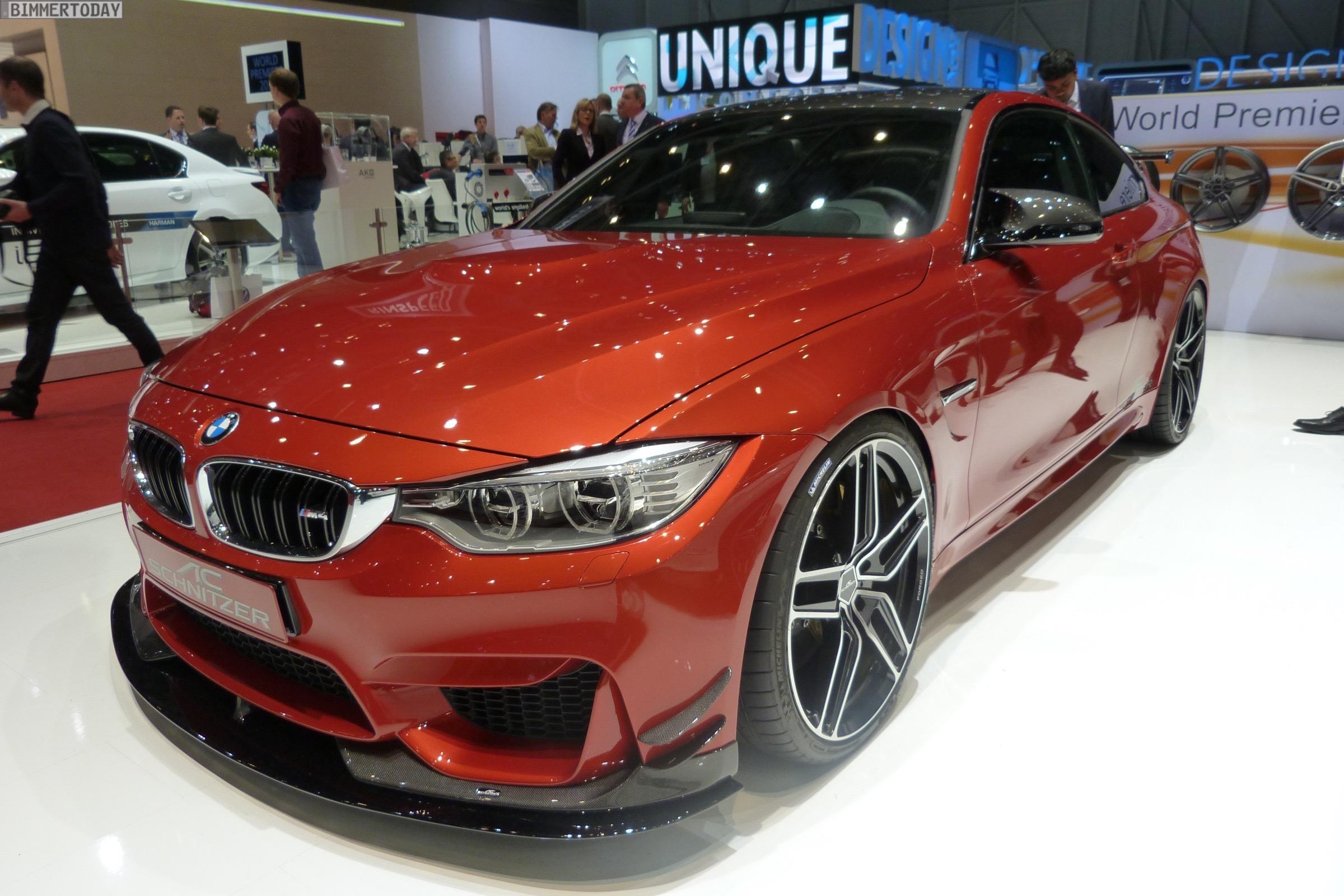 2015 Geneva Motor Show Ac Schnitzer Acs4 Sport M4