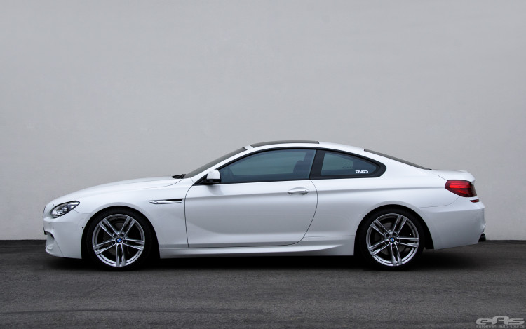 Alpine White BMW 650i Coupe Gets Nicely Lowered 1 750x469