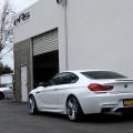 Alpine White BMW 650i CoAlpine White BMW 650i Coupe Gets Nicely Lowered